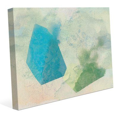 "Click Wall Art 'Hazy Prisms Color and Light' Graphic Art Print on Wrapped Canvas Size: 20"" H x 24"" W x 0.75"" D"