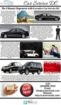The Ultimate Elopement with Executive Car Service DC | Piktochart Infographic Editor