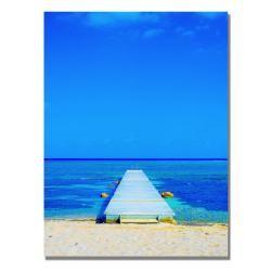 Preston 'Beach-Pier' Canvas Art  $60