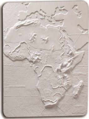 Imagen del producto: MAPA FÍSICO DE ÁFRICA