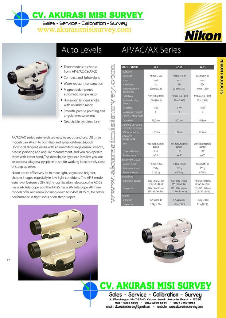 Nikon Automatic Level AC-AP-AX