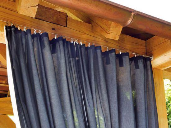 Las 25 mejores ideas sobre cortinas al aire libre en for Cortinas exteriores