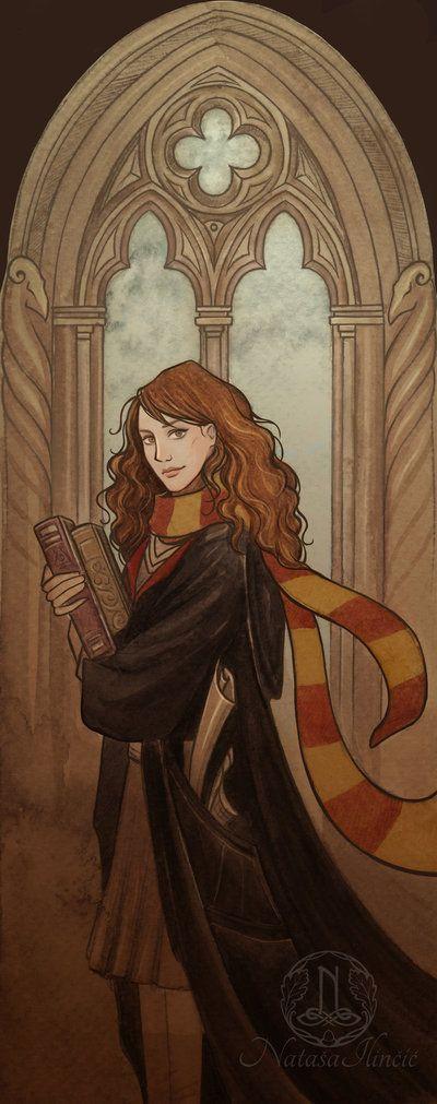 Hermione by UnripeHamadryad on DeviantArt