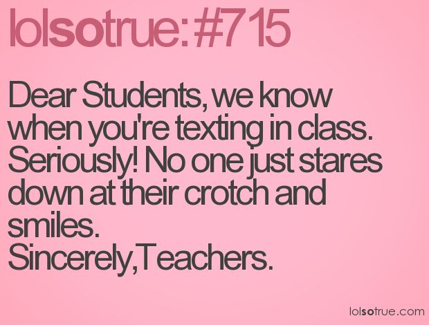 You'd think this wouldn't be an issue in elementary... not so.