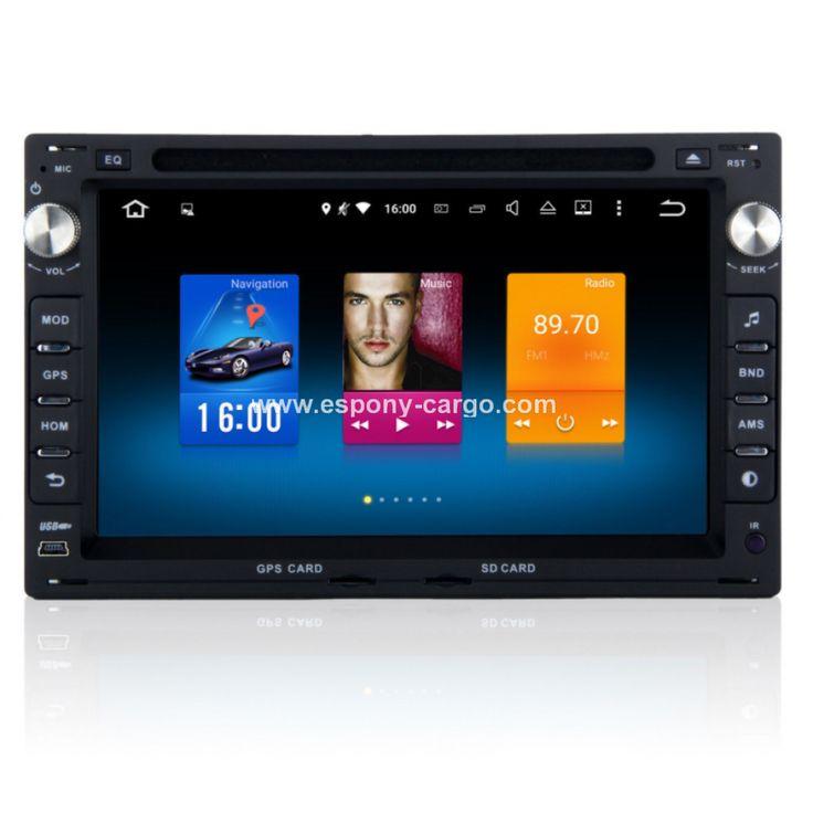 Android 6.0 Car GPS Navi Navigation for VW Passat B5 MK5 JETTA Polo Stereo Radio