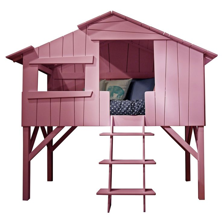 KIDS TREEHOUSE SINGLE CABIN BED