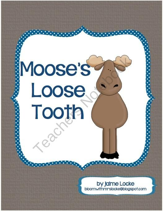 Readers Theater: Mooses Loose Tooth from The First Grade Bloom on TeachersNotebook.com (8 pages) - This cute story by Jacqueline A Clarke, about a Moose whose tooth just won't come out but wants to be visited by the Tooth Fairy, comes to life in this play.