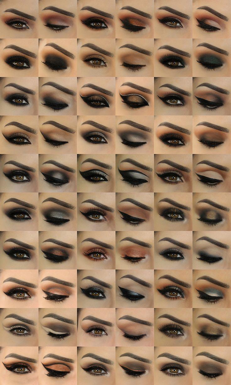 воронку виды макияжа глаз названия и фото подрозетников