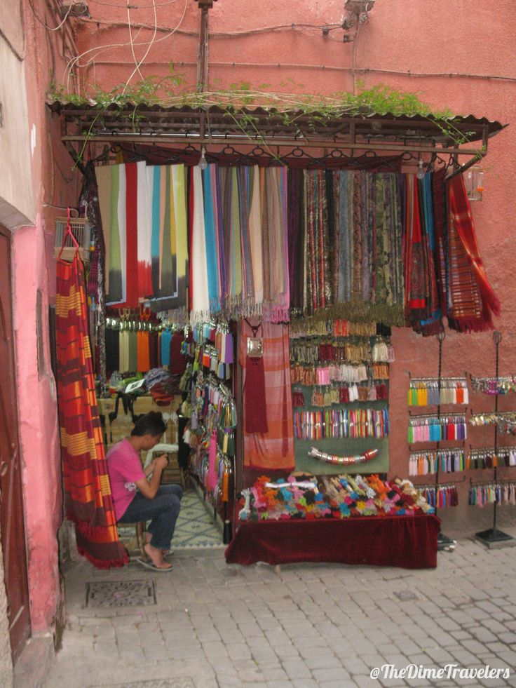 Picture taken in a market while shopping in Morocco a few years back! 🌍✈