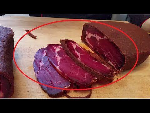 Evde Pastırma Nasıl Yapılır?   Et Yemekleri - YouTube