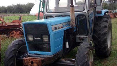 Landini 5500 4×4 trattore gommato con cabina buone condizioni