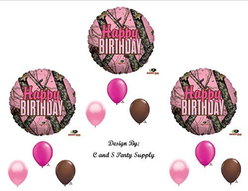 Best Pink Camo Party Supplies for Birthdays and Showers – Best Pink Camo Deals Online for 2015