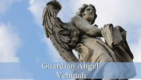 Guardian Angel Vehuiah is the angel of will and new beginnings. The meaning of his name isThe Exalting God. He is one of the Seraphims