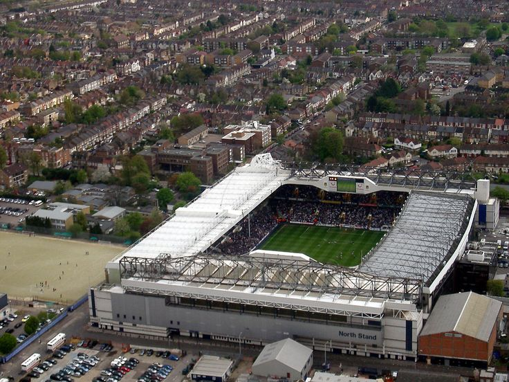 Spurs Football Ground - White Hart Lane - Airads Photo 30-04-06