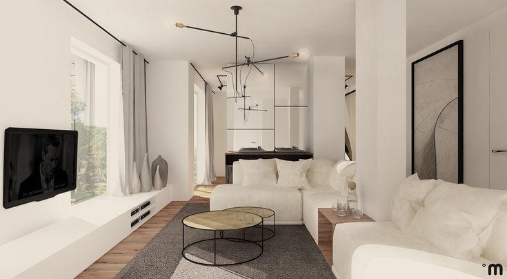 Mieszkanie 105m2, Gdynia, ul. Bałtycka, Salon