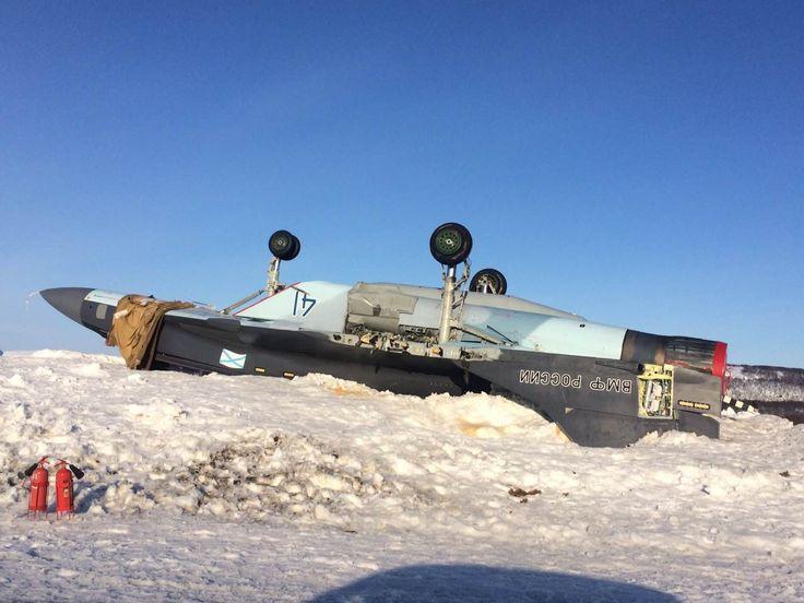 MiG-29K en mauvaise posture