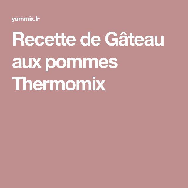 Gateau creusois thermomix