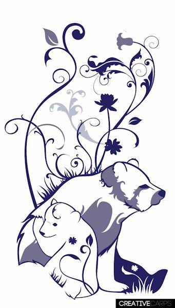1000 ideas about bear tattoos on pinterest tattoos for Bear cub tattoo