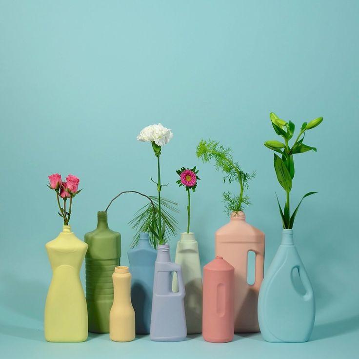 Detergent Bottles, Dish Detergent, Laundry Detergent, Bottle Vase, Oil Bottle, Chinese Emperor, Pastel Palette, Sustainable Gifts, Coral Orange