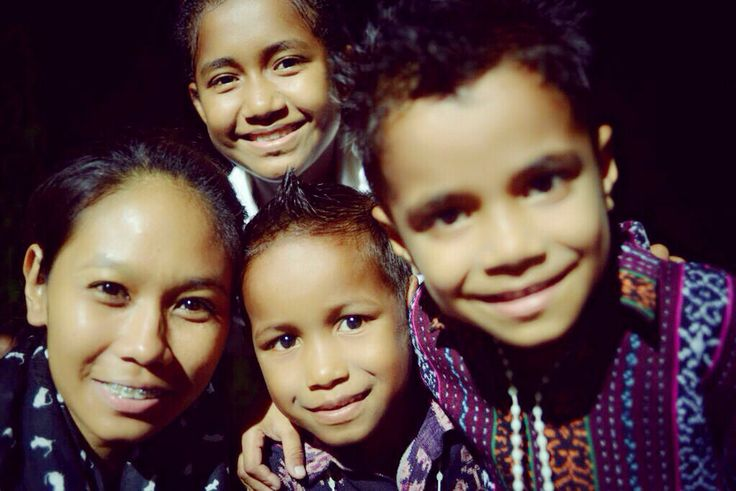 Kids in Maumere - Sikka, Flores NTT - Indonesia