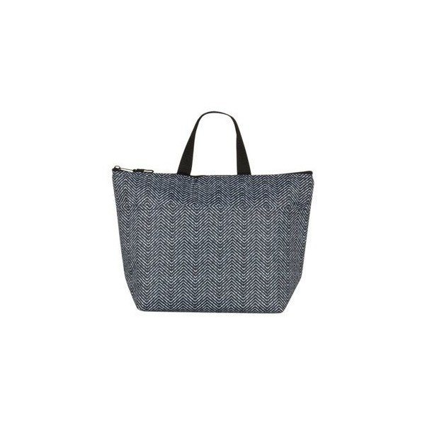 Thirty-One Thermal Tote Herringbone Spot ❤ liked on Polyvore