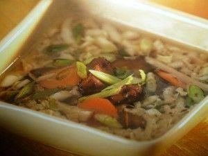 un mondo di ricette: ricette con tofu - zuppa