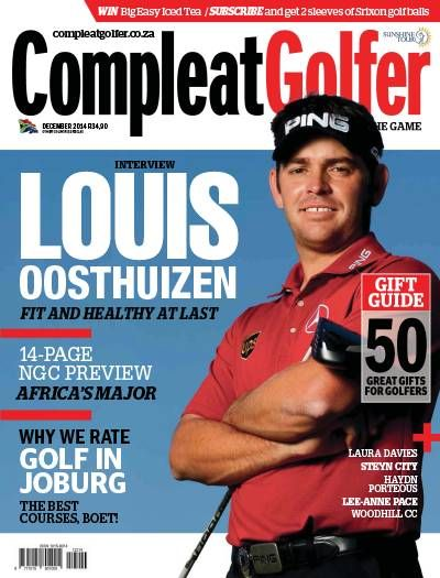 Compleat Golfer Magazine. Golf. Sport. South African.