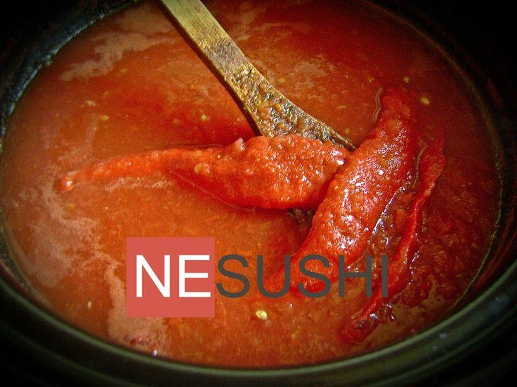 Острый домашний кетчуп (чили), в том числе на зиму - к блюдам из мяса, птицы…
