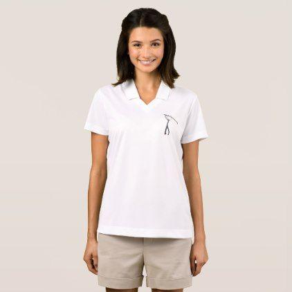Golf Polo Shirt  $49.95  by Mark_Ewbie_Art  - cyo customize personalize diy idea
