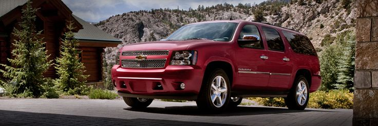2013 Suburban...probably need it in Black like all the movie stars and Secret Service have it!