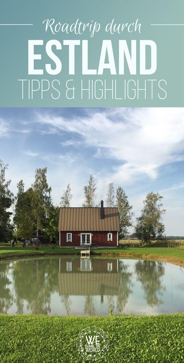 Estland Reise: Alles was du für deinen Estland Roadtrip wissen musst + Estland Unterkünfte und Restaurants #reisetipps #estland #tallinn #baltikum