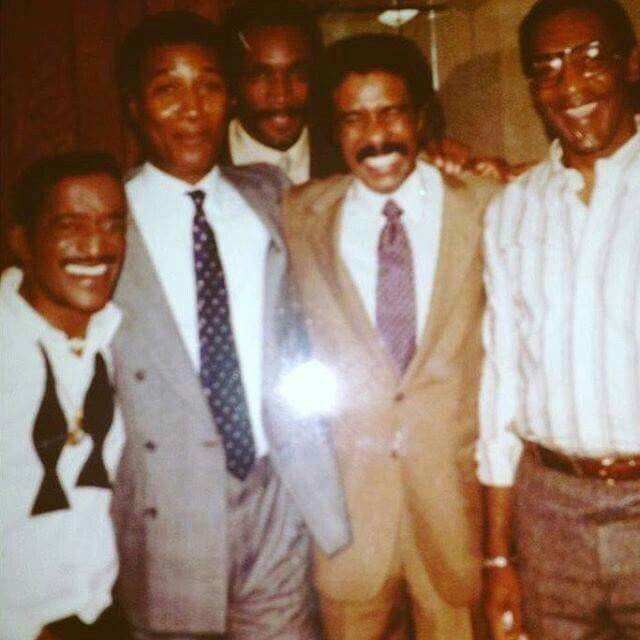 Sammy Davis Jr., Paul Mooney, Richard Pryor, Bill Cosby