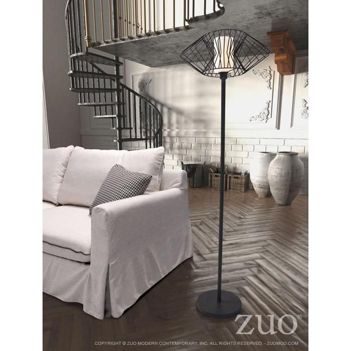 Tumble floor lamp in bronze nebraska furniture mart