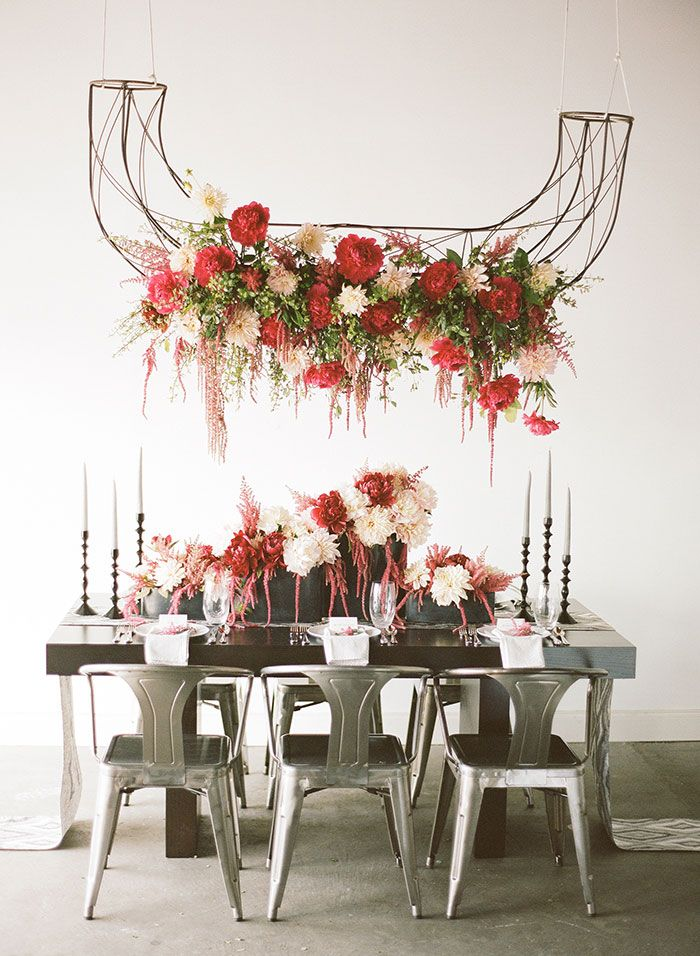 44 best Floral Chandeliers images on Pinterest