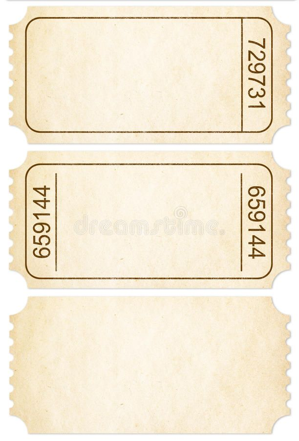 Ticket Set Paper Ticket Stubs Isolated With Clipping Path Ticket Set Paper Ti Sponsore Ticket Template Free Printables Ticket Template Ticket Template Free