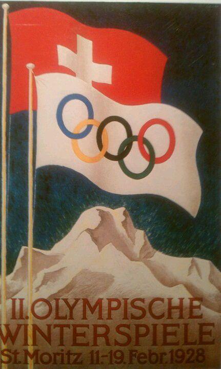 1928 Winter Olympics St Moritz Switzerland
