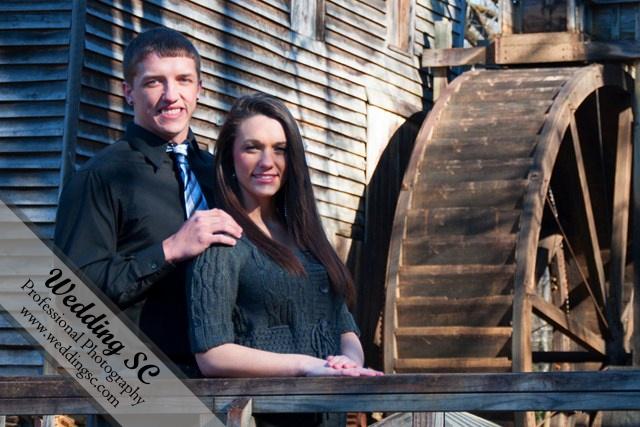 Barn, Hagood Mill, Couples