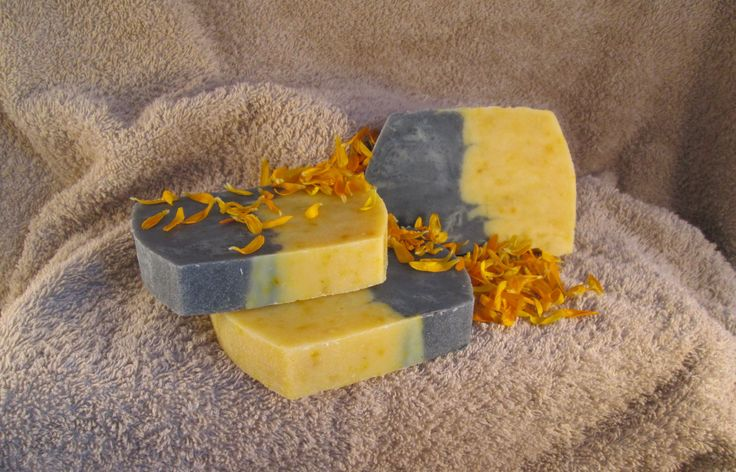 Szenes-körömvirágos szappan
