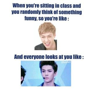 usually exo. or some other kpop group. or a drama. or running man. or some other variety show. yup. dats me.