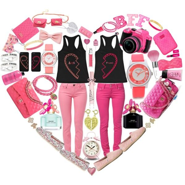 """BFF! Best Friend Matching Outfit!"" by inlove-2 on Polyvore"