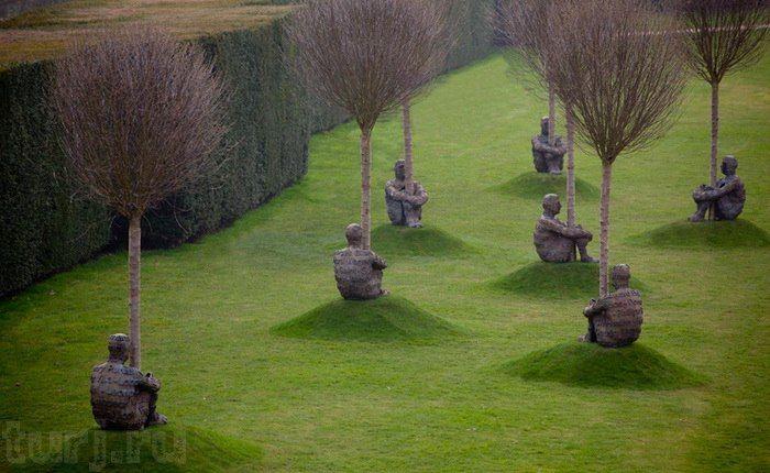 Англия, Йоркшир: Йоркширский парк скульптур - гармония природы и современного…