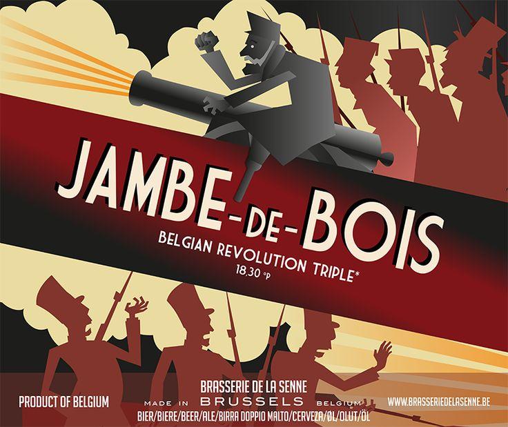 Brasserie de la Senne   JAMBE-de-BOIS A explorer