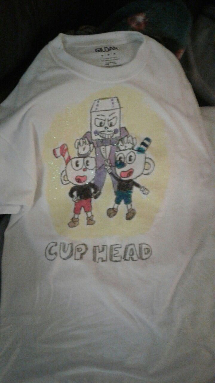 My Cuphead t-shirt !