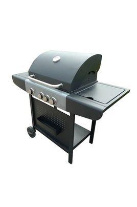 Barbecue americain Brasero OL 6454 SB INOX/NOIR 360 euros chez darty plancha