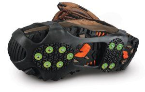 DryGuy GripOns Ice and Snow Traction Reduces slip and fall potential. Steel spiked traction. Strong long lasting material.  http://awsomegadgetsandtoysforgirlsandboys.com/mens-toys-gadgets/ DryGuy GripOns Ice and Snow Traction