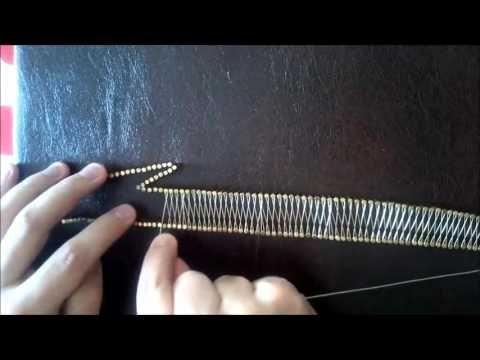 Filografi Nasıl Yapılır (Alt Örgü) - YouTube