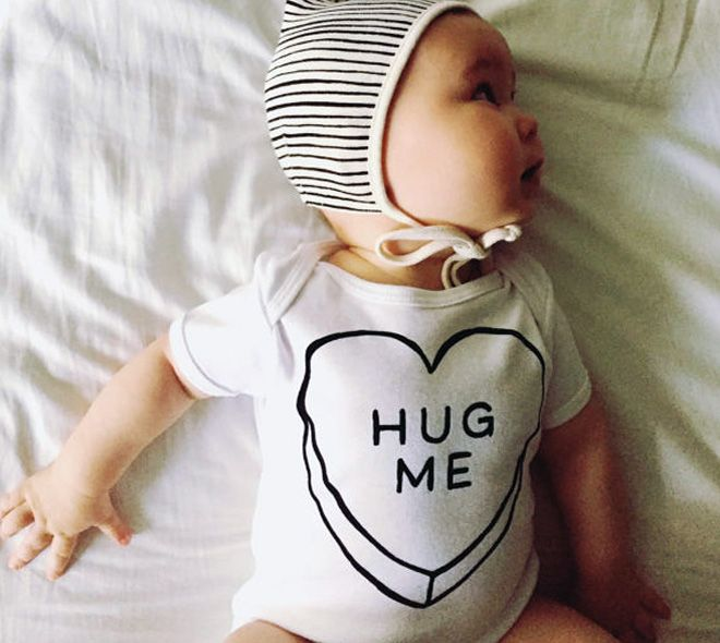 11 cute onesies for baby's first Valentine's Day | Mum's Grapevine