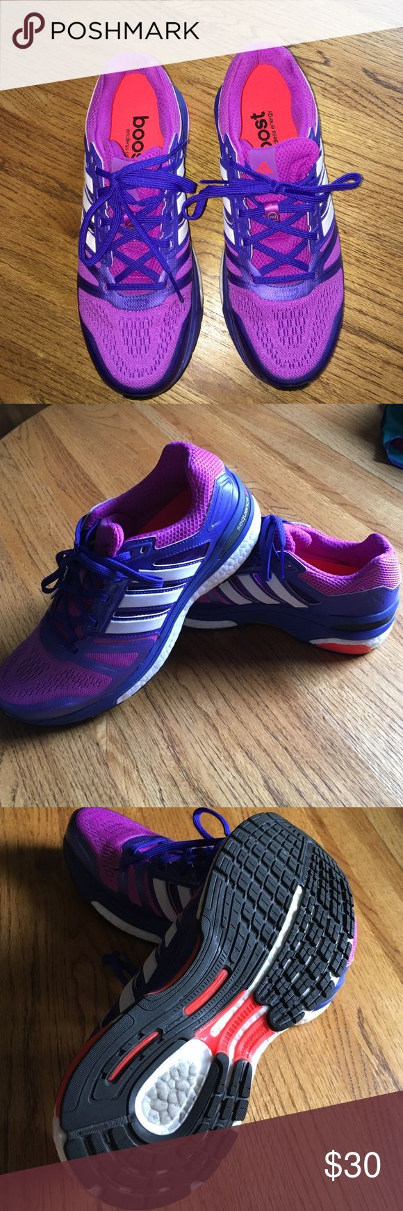 Adidas Supernova Sequence Boost women's shoes Excellent condition. Worn 2 times in gym and decided they are too big for me. Super comfortable shoes. adidas Shoes Athletic Shoes