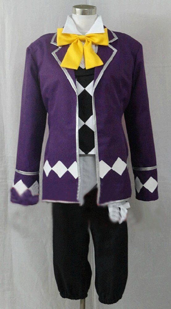 Camplayco Black Butler Circus Joker Cosplay Costume-made * Check out this great product.