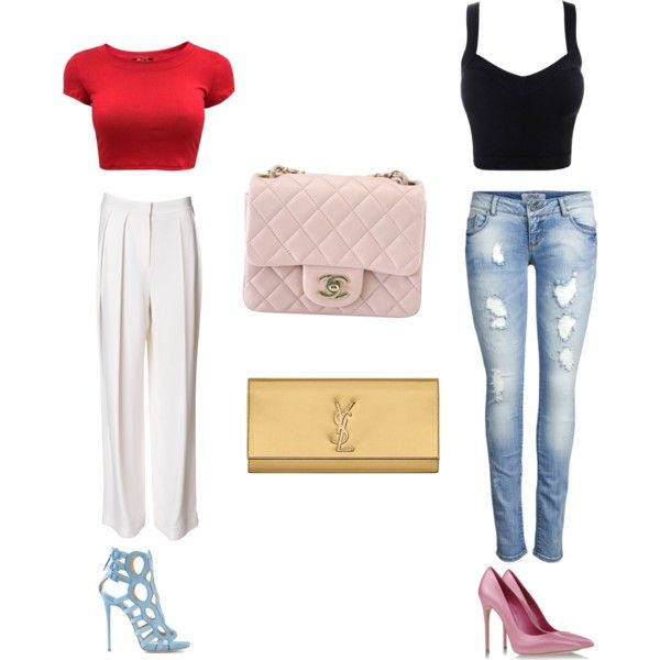 """Day to night before summer gone"" by clarahsu on Polyvore"